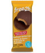 free2b Chocolate Sunflower Butter Mini Cups