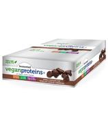 Barre Genuine Health fermenté végan protéines et case double chocolat