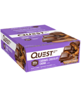 Quest Nutrition Protein Bar Caramel Chocolate Chunk Case