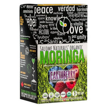 Salome Naturals Inc. Organic Berry Moringa Powder Stick Pack