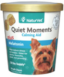Naturvet Quiet Moments Plus Melatonin Soft Chews
