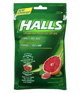 Halls Bag Lozenges Vitamin C Grapefruit