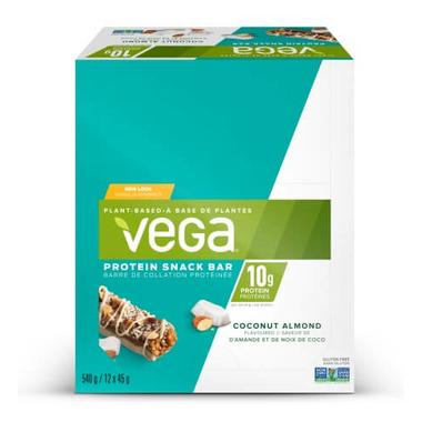 Vega Protein Snack Bar Coconut Almond Case