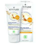 Attitude Sensitive Skin Hand Cream Moisturize & Revitalize Argan