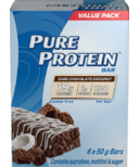 Pure Protein Bar Dark Chocolate Coconut Case