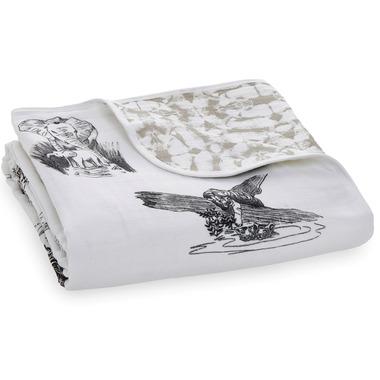 aden+anais Classic Dream Blanket Hear Me Roar Jungle Toile