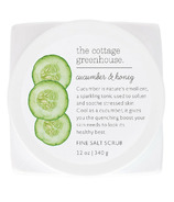 The Cottage Greenhouse Cucumber & Honey Fine Salt Scrub