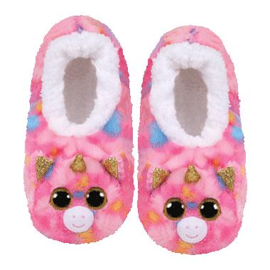 Ty Fashion Fantasia The Unicorn Slipper Socks