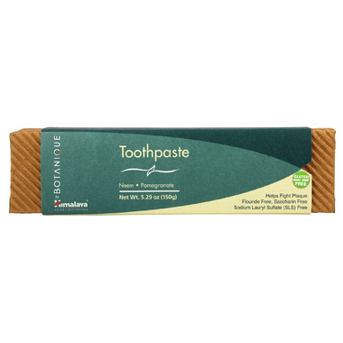 Botanique by Himalaya Neem & Pomegranate Toothpaste