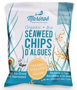 Marinoe Seaweed Chips Sesame Wakami