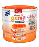 Playtex Diaper Genie Disposal System Refill Max Fresh