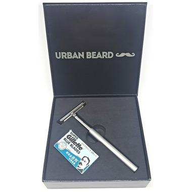 Urban Beard Safety Razor + 5 Razor Blades