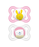 Mam Silicone Mini Air Pacifier Pink