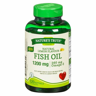 Nature\'s Truth Fish Oil 1200 mg and Omega-3 360 mg