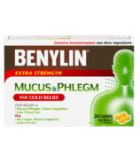Benylin Mucus & Phlegm Plus Cold Relief Extra Strength Caplets