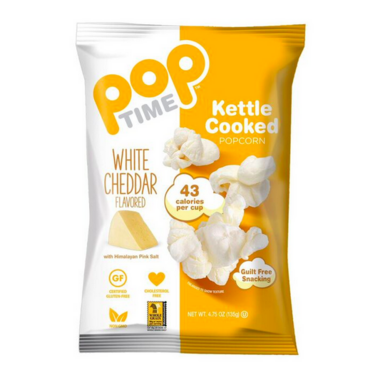 Pop Time White Cheddar Flavoured Kettle Popcorn