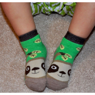 ZOOCCHINI Buddy Baby Socks Set Silas the Sloth 0-24 Months