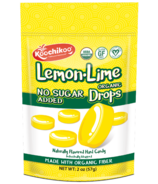 Koochikoo Organic Lemon-Lime No Sugar Added Candy Drops