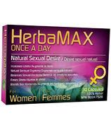 HerbaMAX pour femmes une fois par jour