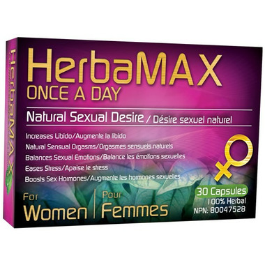 HerbaMAX for Women Once a Day