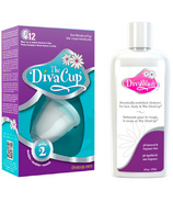 The DivaCup Model 2 & Wash Bundle
