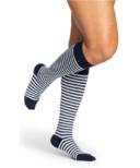 Sigvaris Microfiber Shades Compression Socks Womens Mariner