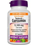 Webber Naturals Turmeric Curcumin Extra Strength 12500mg
