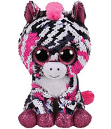 Ty Flippables Zoey the Sequin Pink Zebra Regular