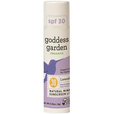 Goddess Garden Lip Balm SPF30 Lavender Mint