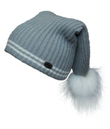 Calikids Cashmere Touch Hat with PomPom Grey