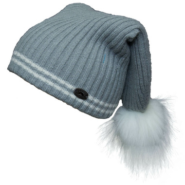 7e19e5a0edc4c Buy Calikids Cashmere Touch Hat with PomPom Grey from Canada at Well.ca -  Free Shipping