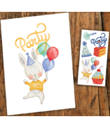 PiCO Temporary Tattoos Party Card & Tattoos