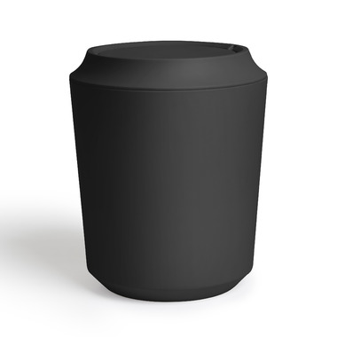 Umbra Corsa Waste Can With Lid Charcoal