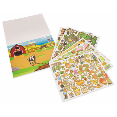 Melissa & Doug Reusable Sticker Pad Farm