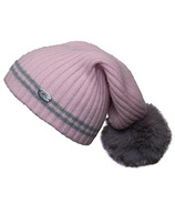 Calikids Cashmere Touch Hat with PomPom Pink