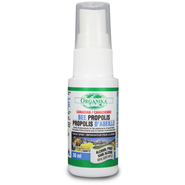 Organika Bee Propolis Alcohol-Free Throat Spray