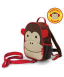 Skip Hop Zoo Safety Harness Mini Backpack With Rein Monkey
