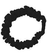 kitsch Silk Scrunchies Black
