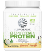 Sunwarrior Clean Greens & Protein Tropical Vanilla