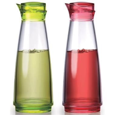 Prodyne FELIZ Acrylic Acrylic Oil & Vinegar Bottle Set