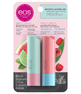 eos Flavor Lab Summer Watermelon and Lychee Martini Stick Lip Balm 2 Pack