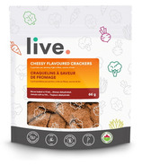 Live Organic Cheesy Flavoured Crackers