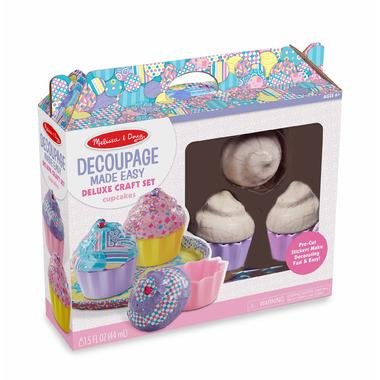 Melissa & Doug Deluxe Craft Set Cupcakes