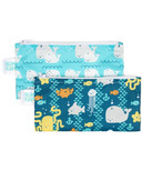Bumkins Reusable Snack Bag Small Sea Friends