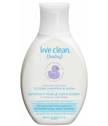 Live Clean Baby Collodial Oatmeal Eczema Shampoo & Wash