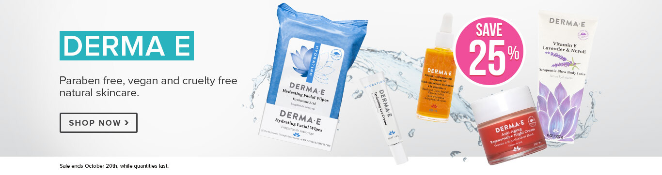 Save 25% on Derma E