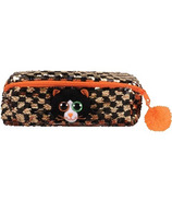 Ty Flippables Shadow the Black Cat Sequin Pencil Bag