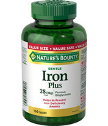 Nature's Bounty Gentle Iron Value Size
