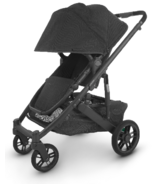 UPPAbaby CRUZ V2 Stroller Jake Black Carbon Black Leather
