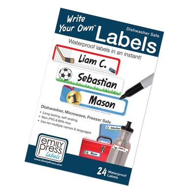 Emily Press Labels Sports #1